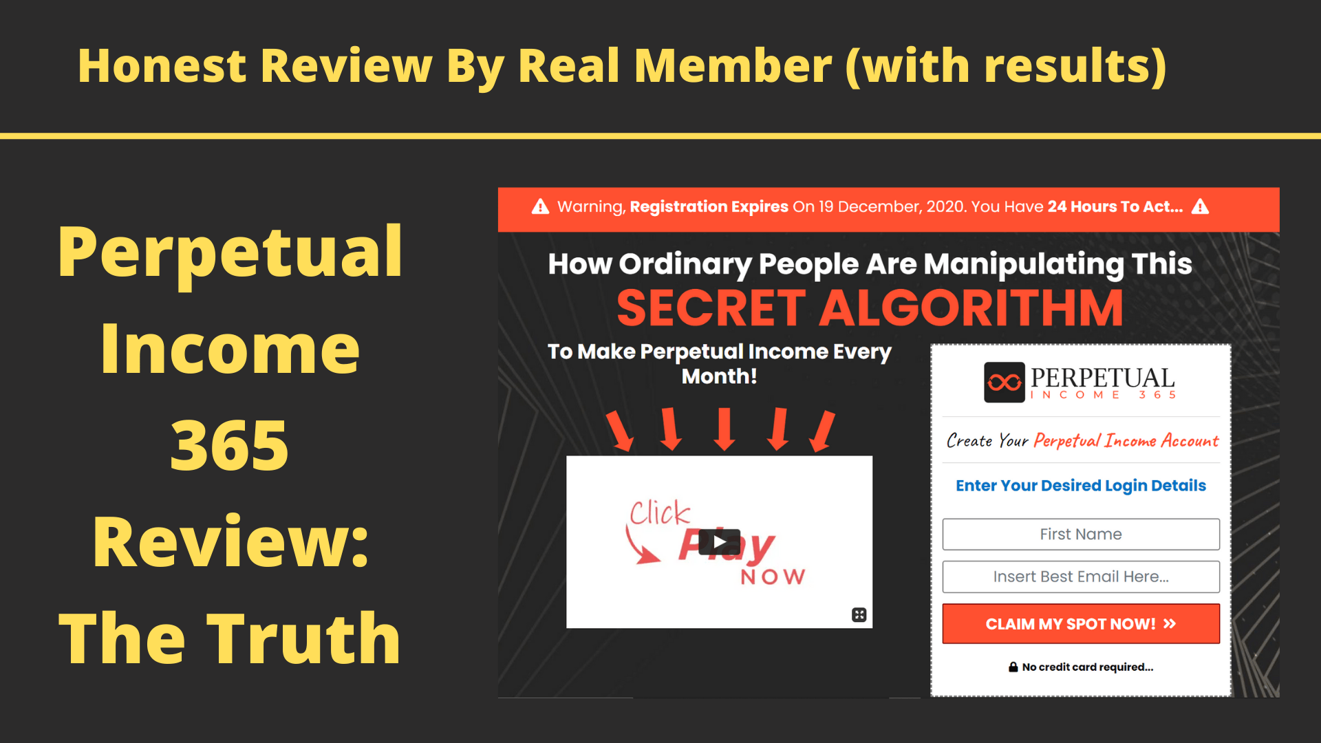 Perpetual Income 365 Review: My Results & The Truth
