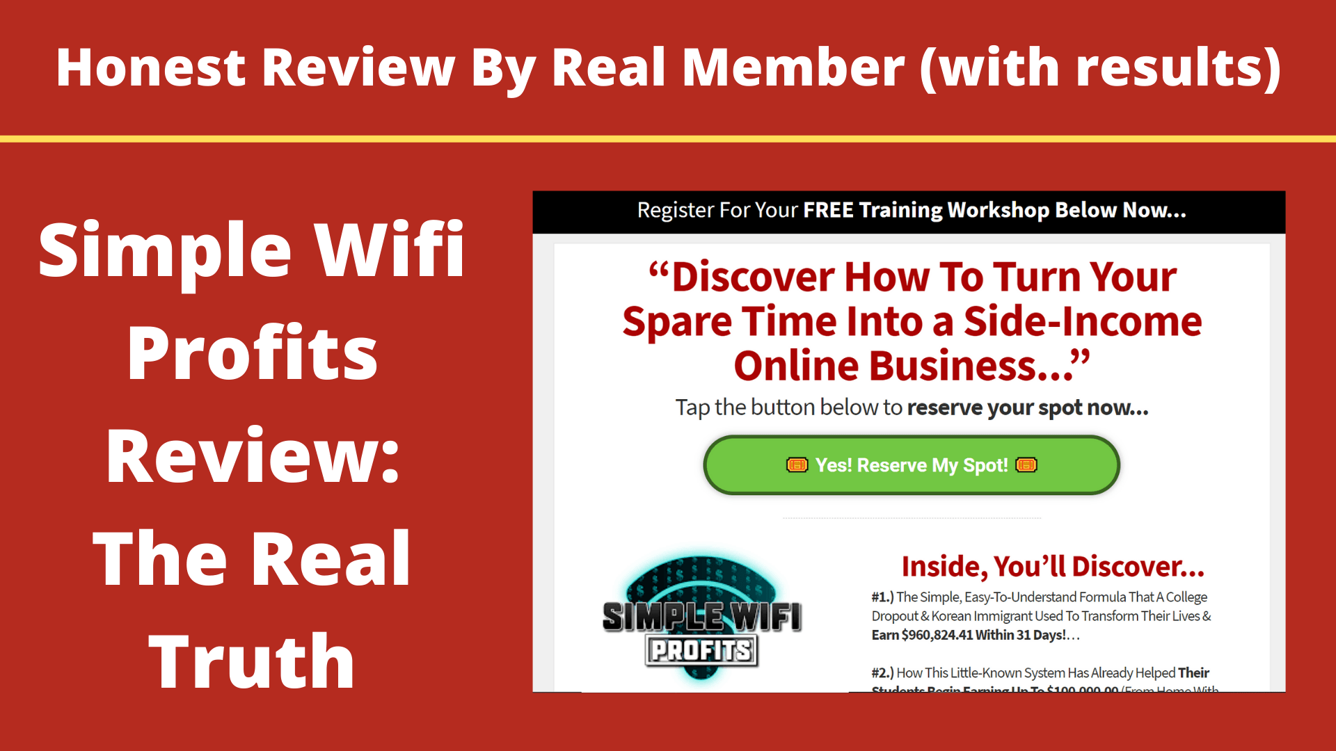 Simple WiFi Profits Review: My Results & The Truth