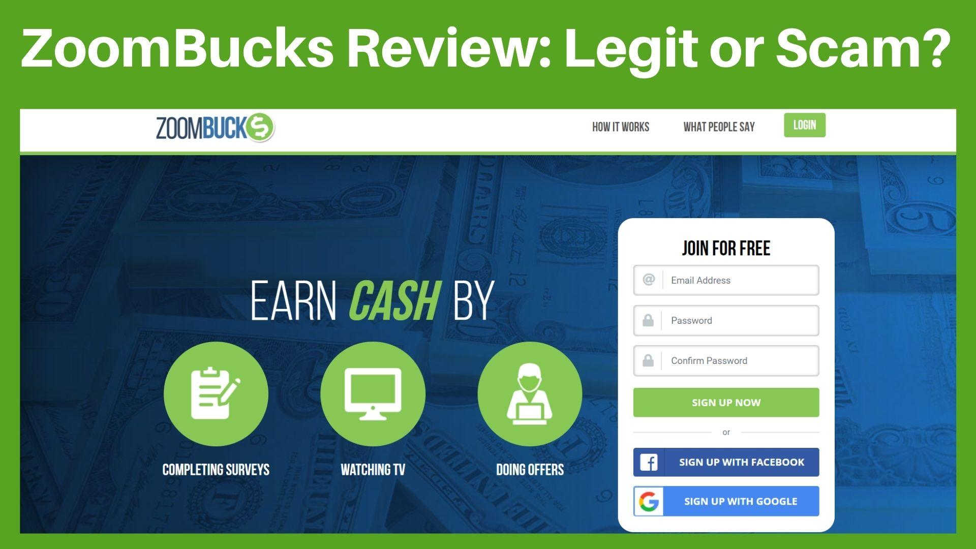ZoomBucks Review: Is It Just A Waste Of Time? (Truth Exposed)