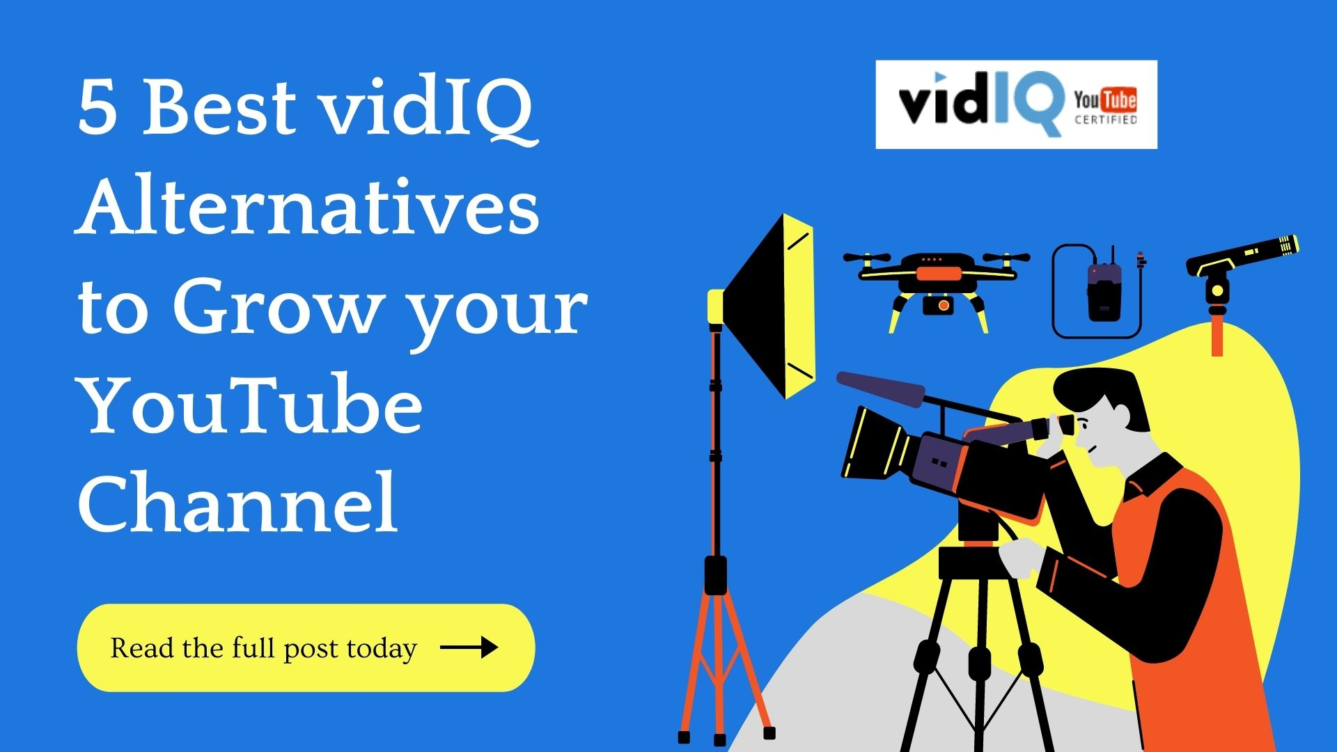 5 vidIQ Alternatives To Skyrocket Your YouTube Growth