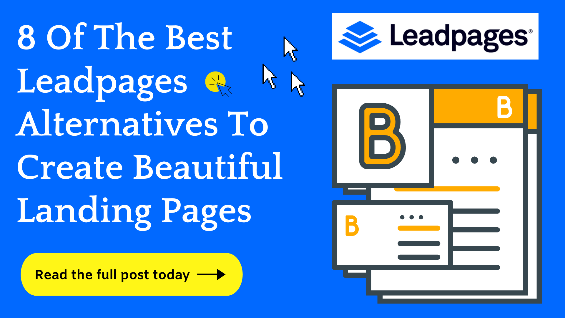 8 Leadpages Alternatives They Don't Want You To Know (2021)