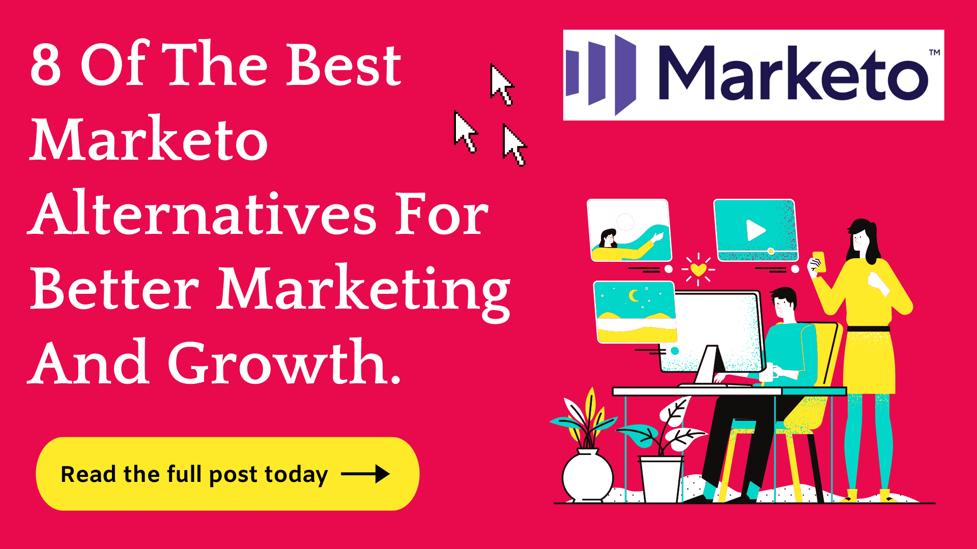 8 Marketo Alternatives They Don't Want You To Know (2021)